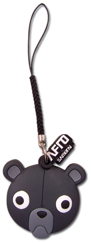 Afro Samurai Cell Phone Charm, an officially licensed Afro Samurai product at B.A. Toys.