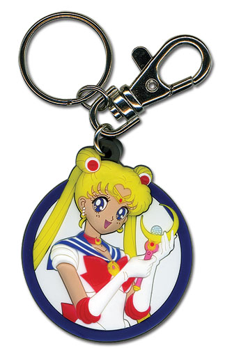 Sailormoon Sailor Moon Pvc Keychain, an officially licensed product in our Sailor Moon Key Chains department.