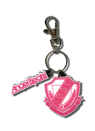 Angel Beats Emblem Pvc Keychain, an officially licensed product in our Angel Beats Key Chains department.