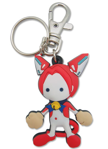 Cat Planet Cuties Assist-A-Roid Pvc Keychain, an officially licensed Cat Planet Cuties product at B.A. Toys.