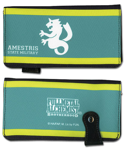 Fullmetal Alchemist Brotherhood - Amerstris Wallet officially licensed Fullmetal Alchemist Wallet & Coin Purse product at B.A. Toys.