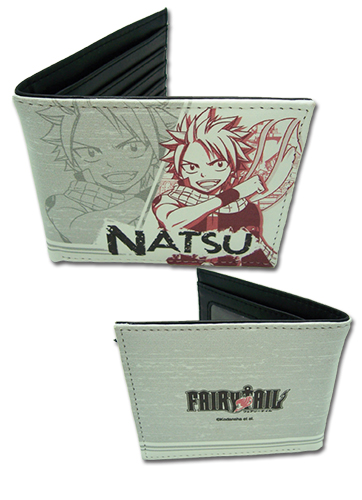 Fairy Tail - Natsu Boy Wallet, an officially licensed product in our Fairy Tail Wallet & Coin Purse department.