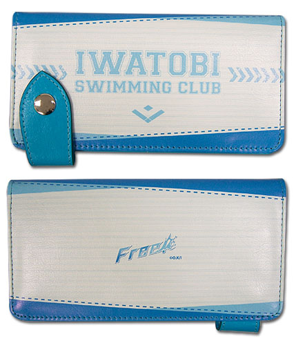 Free! - Iwatobi Sc Wallet, an officially licensed product in our Free! Wallet & Coin Purse department.