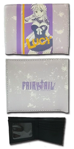 Fairy Tail - Lucy Boy Wallet, an officially licensed product in our Fairy Tail Wallet & Coin Purse department.