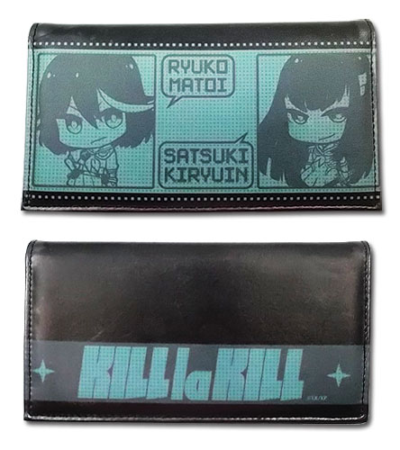 Kill La Kill - Ryuko & Satsuki Sd Wallet, an officially licensed product in our Kill La Kill Wallet & Coin Purse department.