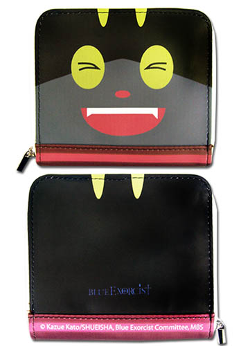 Blue Exorcist - Kuro Wallet officially licensed Blue Exorcist Wallet & Coin Purse product at B.A. Toys.