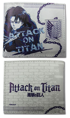 Attack On Titan - Levi Chain Wallet, an officially licensed Attack On Titan product at B.A. Toys.