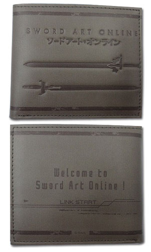Sword Art Online - Swords Boy Wallet, an officially licensed product in our Sword Art Online Wallet & Coin Purse department.
