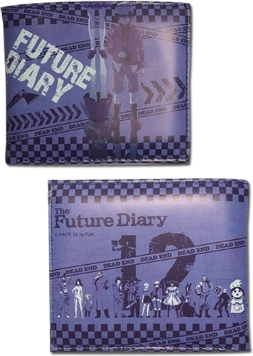 Future Diary - Diary Holders Purple Wallet, an officially licensed product in our Future Diary Wallet & Coin Purse department.