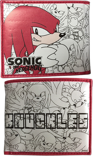 Classic Sonic - Knuckles Wallet, an officially licensed product in our Sonic Wallet & Coin Purse department.