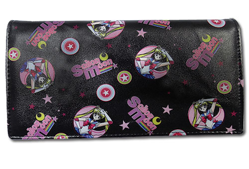 Sailor Moon - Sailor Moon Pattern Wallet, an officially licensed product in our Sailor Moon Wallet & Coin Purse department.