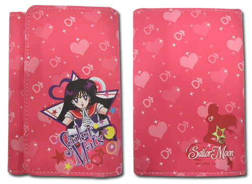 Sailor Moon R - Sailor Mars Wallet, an officially licensed product in our Sailor Moon Wallet & Coin Purse department.