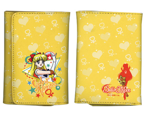 Sailor Moon - Sailor Venus Wallet, an officially licensed product in our Sailor Moon Wallet & Coin Purse department.