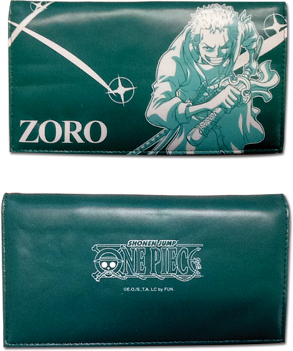One Piece - Zoro Wallet, an officially licensed product in our One Piece Wallet & Coin Purse department.