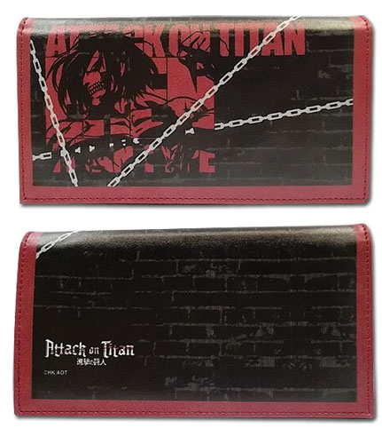 Attack On Titan - Eren Titan Type Girl Wallet, an officially licensed product in our Attack On Titan Wallet & Coin Purse department.