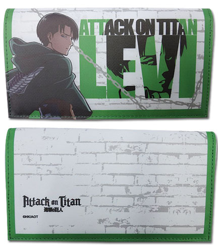 Attack On Titan - Levi Girl Wallet officially licensed Attack On Titan Wallet & Coin Purse product at B.A. Toys.
