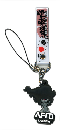 Afro Samurai Cell Phone Strap officially licensed product at B.A. Toys.