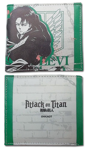 Attack On Titan - Levi Boy Wallet officially licensed Attack On Titan Wallet & Coin Purse product at B.A. Toys.