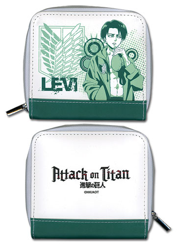 Attack On Titan - Levi Wallet officially licensed Attack On Titan Wallet & Coin Purse product at B.A. Toys.