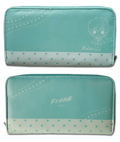 Free! - Makoto Sd Wallet, an officially licensed product in our Free! Wallet & Coin Purse department.