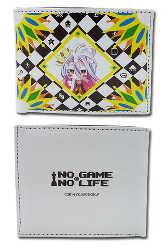 No Game No Life - Shiro Boy Wallet, an officially licensed product in our No Game No Life Wallet & Coin Purse department.