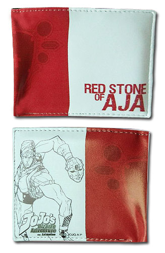 Jojo - Red Stone Of Aja Boy's Wallet, an officially licensed product in our Jojo'S Bizarre Adventure Wallet & Coin Purse department.