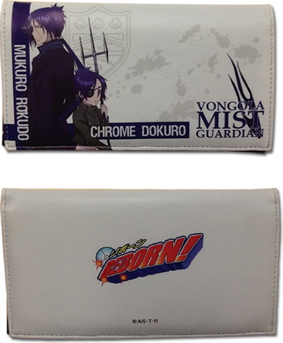 Reborn! - Mukuro & Chrome Wallet, an officially licensed product in our Reborn! Wallet & Coin Purse department.