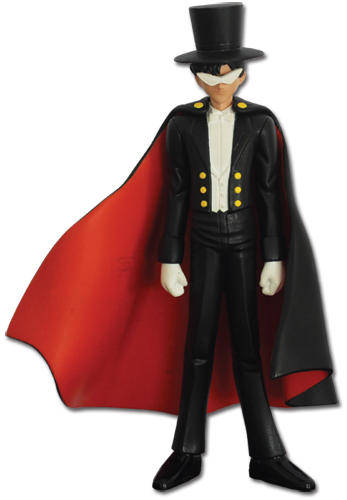 Sailormoon Tuxedo Kamen Figure, an officially licensed product in our Sailor Moon Bobble Heads & Figures department.