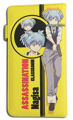 Assassination Classroom - Nagisa Wallet, an officially licensed product in our Assassination Classroom Wallet & Coin Purse department.