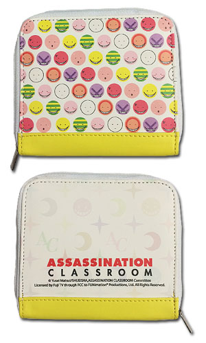 Assasination Classroom - Face Wallet, an officially licensed product in our Assassination Classroom Wallet & Coin Purse department.