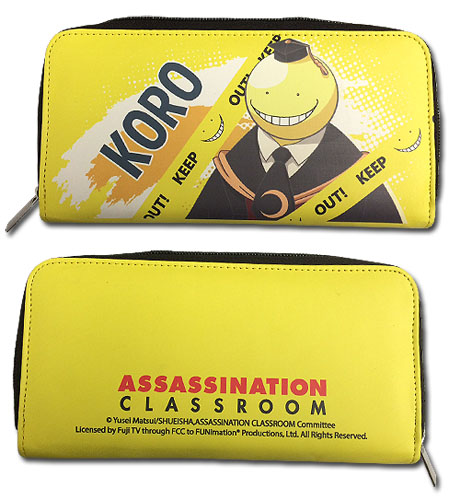 Assasination Classroom - Koro Group Wallet, an officially licensed product in our Assassination Classroom Wallet & Coin Purse department.