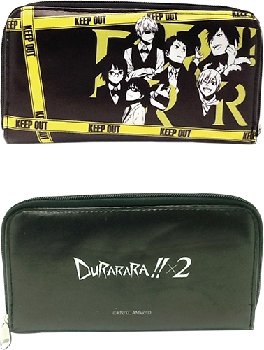 Durarara!!x2 - Group Wallet officially licensed Durarara!! Wallet & Coin Purse product at B.A. Toys.