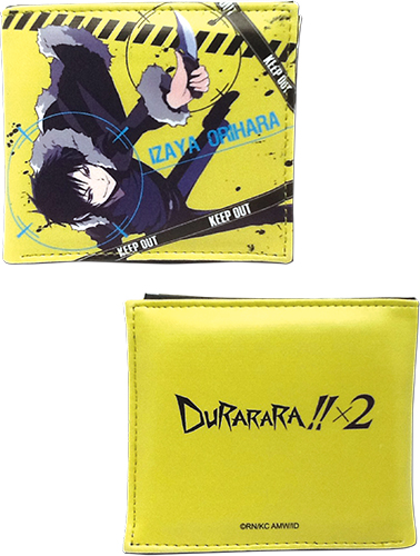 Durarara!!x2 - Izaya Boy Wallet officially licensed Durarara!! Wallet & Coin Purse product at B.A. Toys.