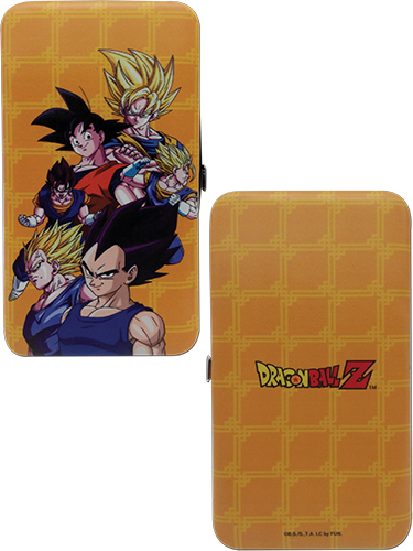 Dragon Ball Z - Goku & Vegeta Hinge Wallet, an officially licensed product in our Dragon Ball Z Wallet & Coin Purse department.