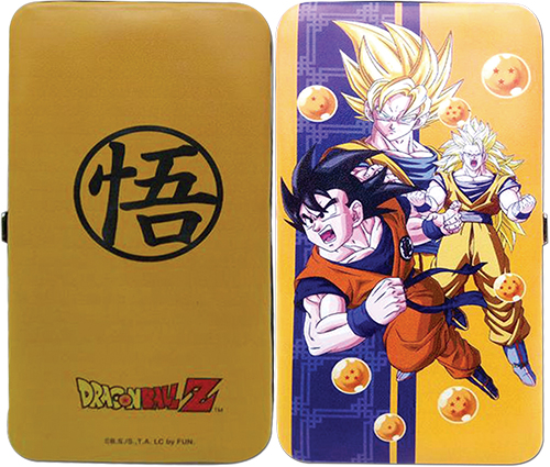 Dragon Ball Z - Goku Hinge Wallet, an officially licensed product in our Dragon Ball Z Wallet & Coin Purse department.