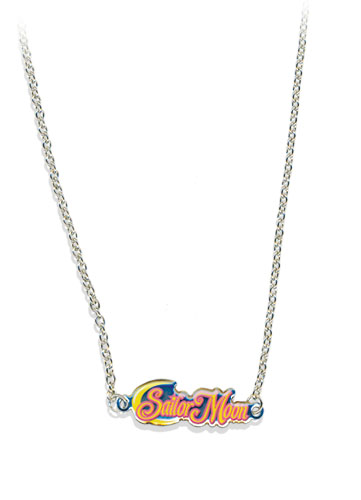 Sailormoon Sailor Moon Logo Necklace, an officially licensed product in our Sailor Moon Jewelry department.