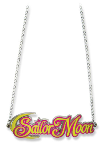 Sailormoon Sailor Moon Big Logo Metal Necklace, an officially licensed product in our Sailor Moon Jewelry department.