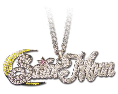 Sailormoon Studded Logo Necklace, an officially licensed product in our Sailor Moon Jewelry department.
