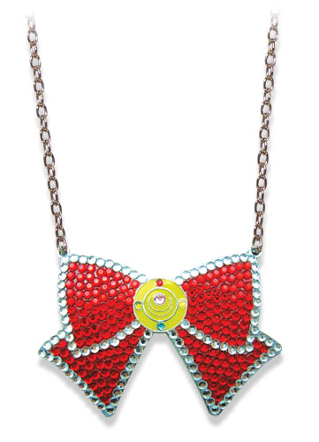 Sailormoon Sailor Moon Jeweled Ribbon Necklace, an officially licensed product in our Sailor Moon Jewelry department.