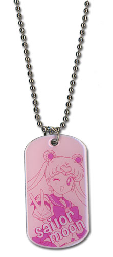 Sailormoon Sailor Moon Dog Tag Necklace, an officially licensed product in our Sailor Moon Jewelry department.