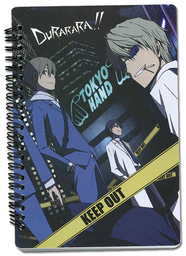 Durarara!! Character Line Up Notebook, an officially licensed Durarara Stationery