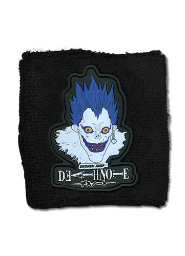 Death Note Ryuk's Pvc Head Wristband, an officially licensed product in our Death Note Wristbands department.