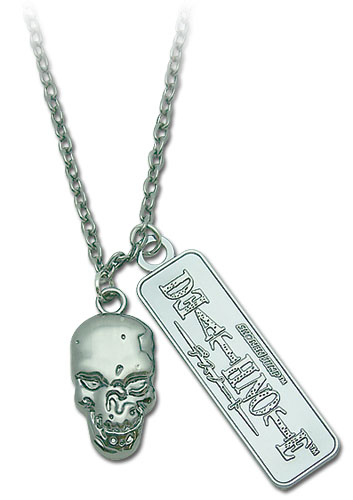 Death Note Skull Necklace, an officially licensed Death Note Necklace
