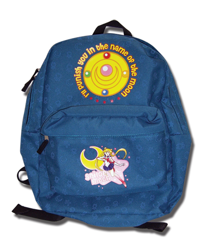Sailormoon Sailor Pattern Backpack, an officially licensed product in our Sailor Moon Bags department.