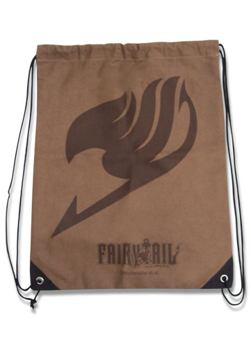 Fairy Tail Fairy Tail Insignia Drawstring Bag, an officially licensed product in our Fairy Tail Bags department.