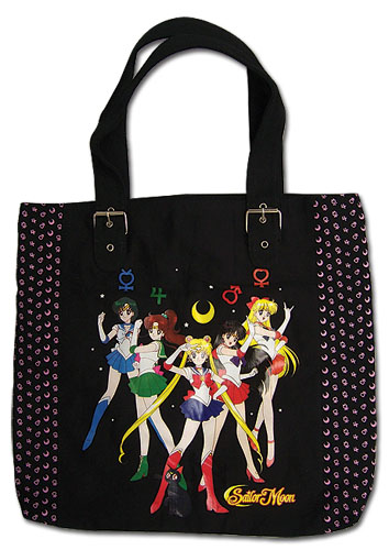 Sailormoon Sailor Soldiers Tote Bag, an officially licensed product in our Sailor Moon Bags department.