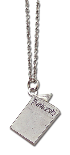 Death Note Notebook Necklace, an officially licensed product in our Death Note Stationery department.