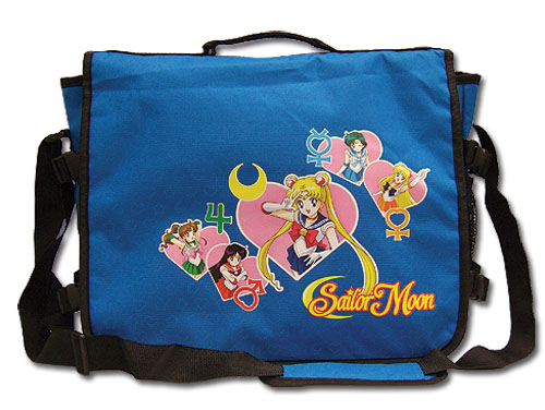 Sailormoon Sailor Soldiers Messenger Bag, an officially licensed Sailor Moon Bag