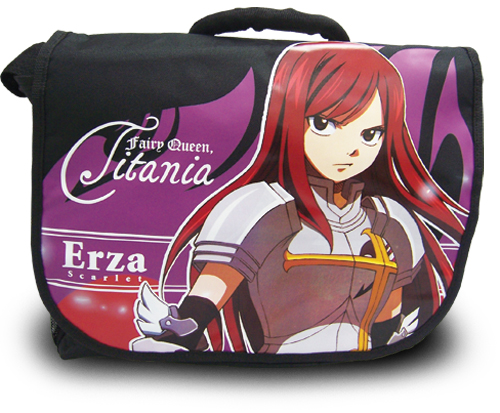 Fairy Tail Erza Messenger Bag, an officially licensed product in our Fairy Tail Bags department.