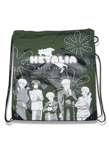 Hetalia World Series Group Drawstring Bag, an officially licensed product in our Hetalia Bags department.